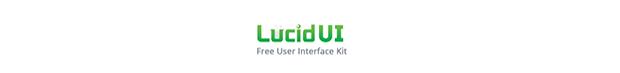 Free Lucid UI Kit
